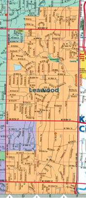 Leawood Kansas Map.Andrew Osman For Leawood Kansas City Council Ward 1 In 2010